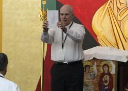 presentación del Nuevo Testamento de la BIA en la 35 Asamblea General del CELAM Santo Domingo mayo 2015