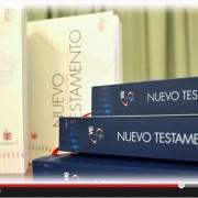 pantallazo del vídeo de la Conferencia Episcopal Argentina sobre la presentación NT de la BIA